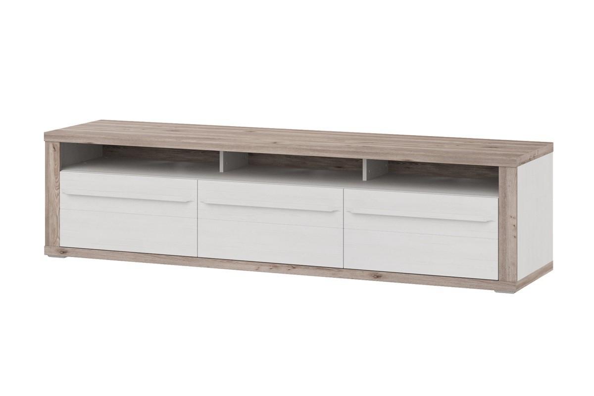 TV, Hifi stolek  - dřevěný TV stolek Semi - Typ 33 (pino aurelio/dub nelson)