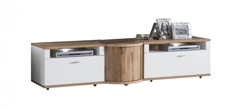 TV, Hifi stolek  - dřevěný TV stolek Wotan - typ 31