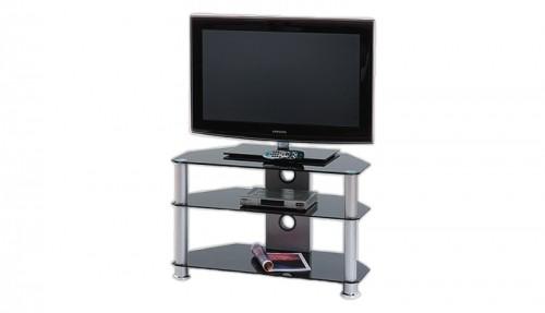 TV, Hifi stolek - skleněný BRW RTV-4
