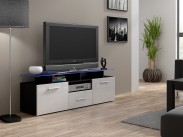 TV stolek Evora mini (korpus - černá)