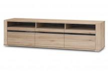 TV stolek Minneota Typ 32 (dub sanremo pískový/břidlice)