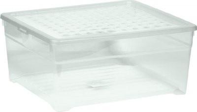 Úložný box - 18,5L (plast, transparentní)