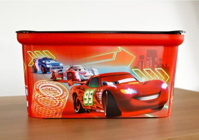 Úložný box - Amsterdam S Cars new (červená)