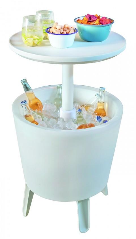 Úložný prostor Illuminated Cool Bar - Úložný box (bílá)