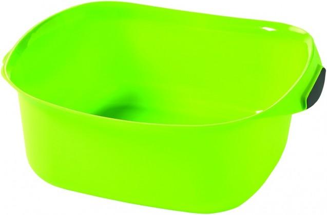 Umyvadlo čtverec 10l - zelená