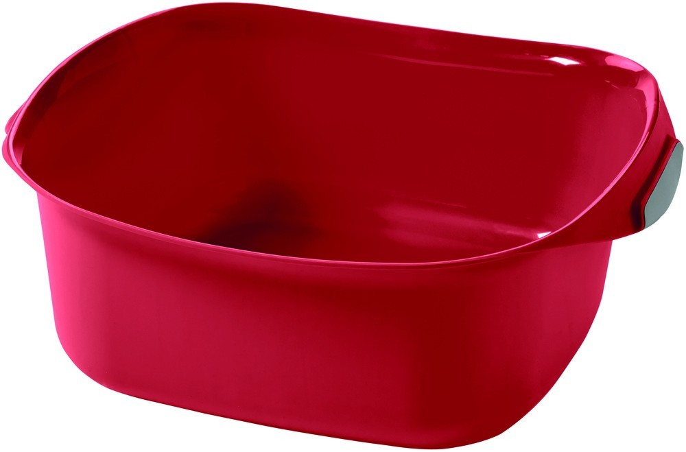 Umyvadlo s držadly 8L červené
