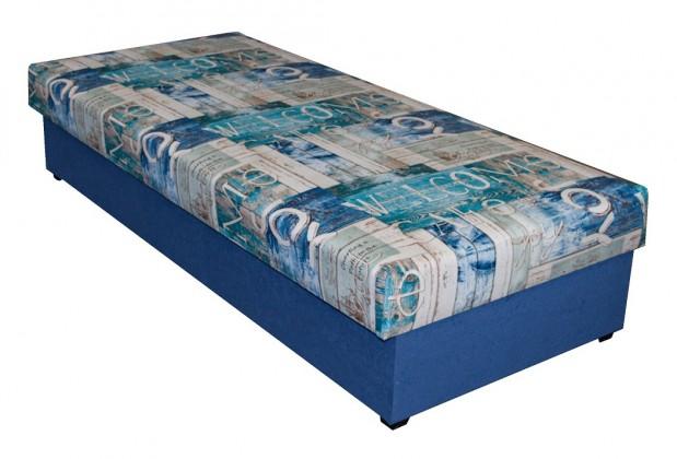 Válenda Dana - 90x200 (modrá)