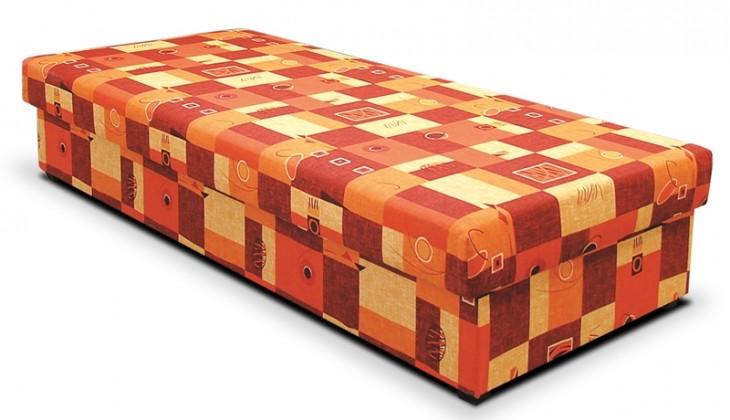 Válendy Válenda Dana 90x200, oranžová, vč. matrace a úp