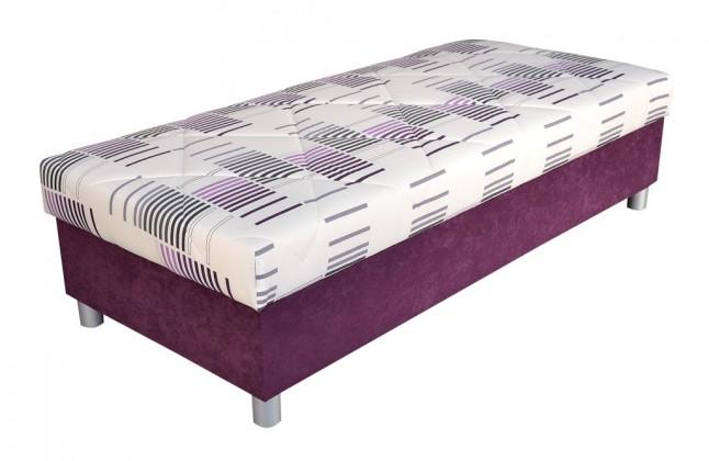Válendy Válenda George 90x200, fialová, vč. matrace a úp