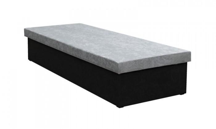 Válendy Válenda Iva 80x200, černá/šedá, včetně úp