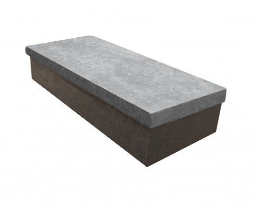 Válendy Válenda Iva 80x200, šedá, včetně úp
