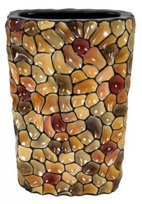 Váza keramická - 35 cm (keramika, mix barev)