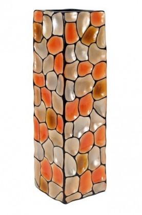 Váza keramická - 60 cm (keramika, mix barev)