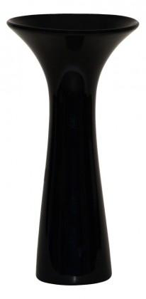 Vázy Keramická váza VK02 (černá, 30 cm)