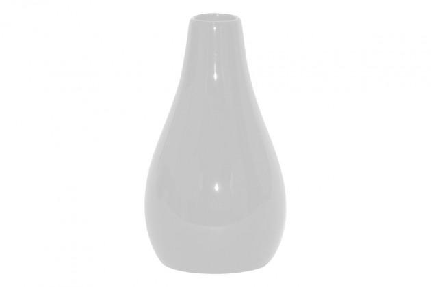 Vázy Keramická váza VK05 (bílá, 25,5 cm)