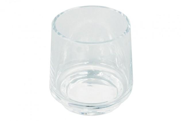 Vázy Skleněná váza VS03 (čirá, 12,5 cm)