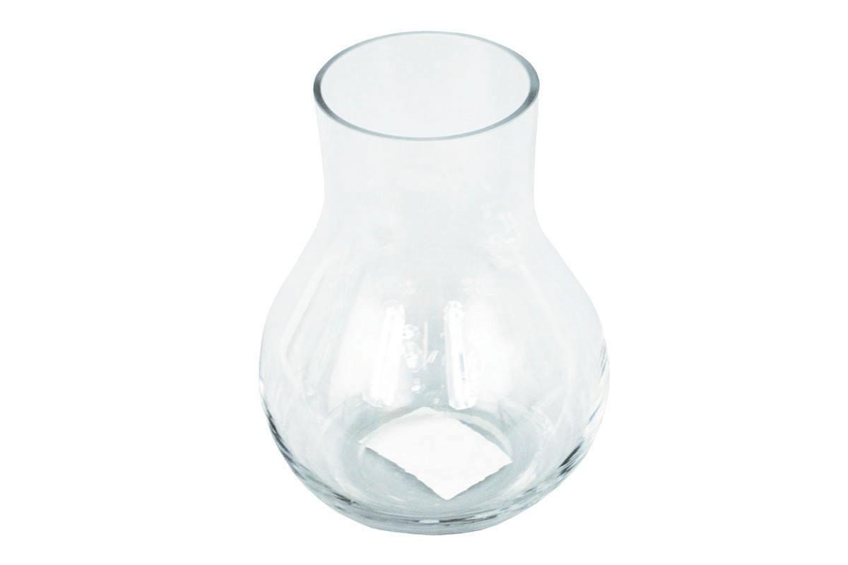 Vázy Skleněná váza VS07 (čirá, 15 cm)