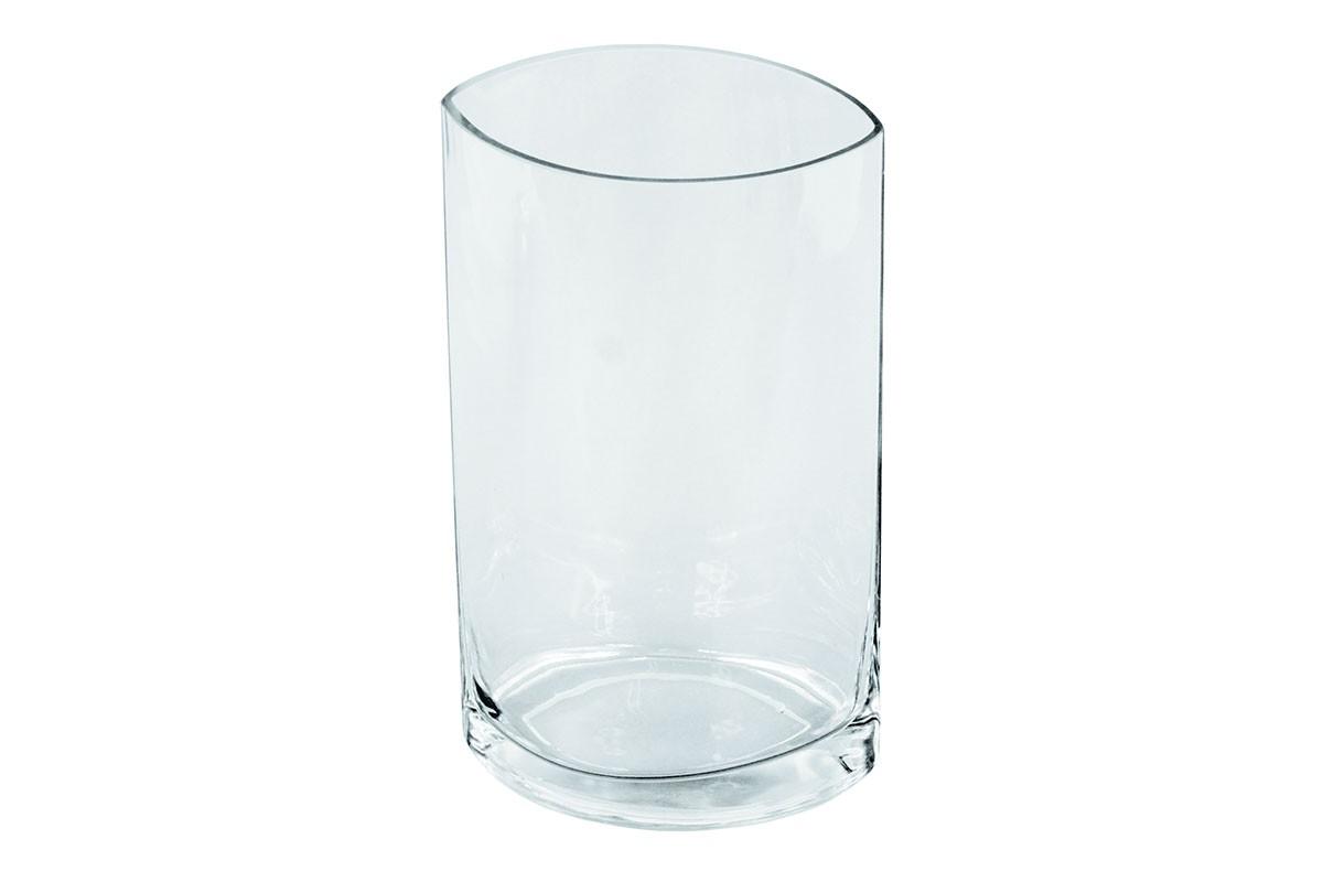 Vázy Skleněná váza VS10 (čirá, 25 cm)