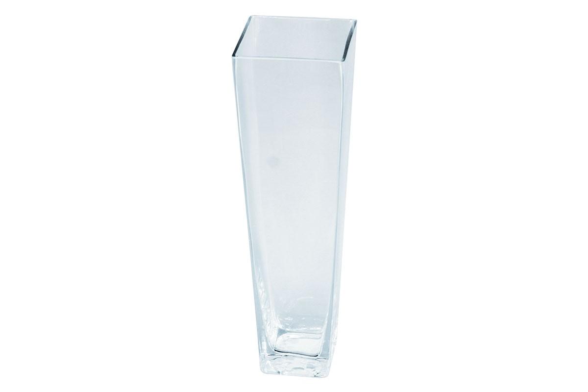 Vázy Skleněná váza VS12 (čirá, 35 cm)