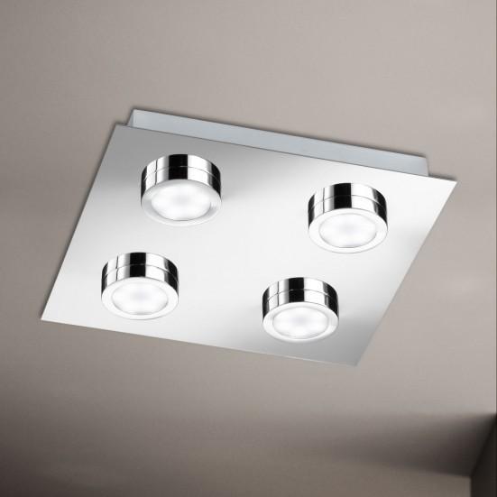 Veneta - Stropní osvětlení, LED (chrom)