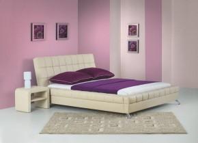 Venice - Postel 200x160, rám postele, rošt (béžová)