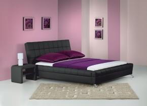 Venice - Postel 200x160, rám postele, rošt (černá)