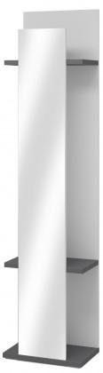 Věšák Adena Typ 09 (bílá arctic/grafit)