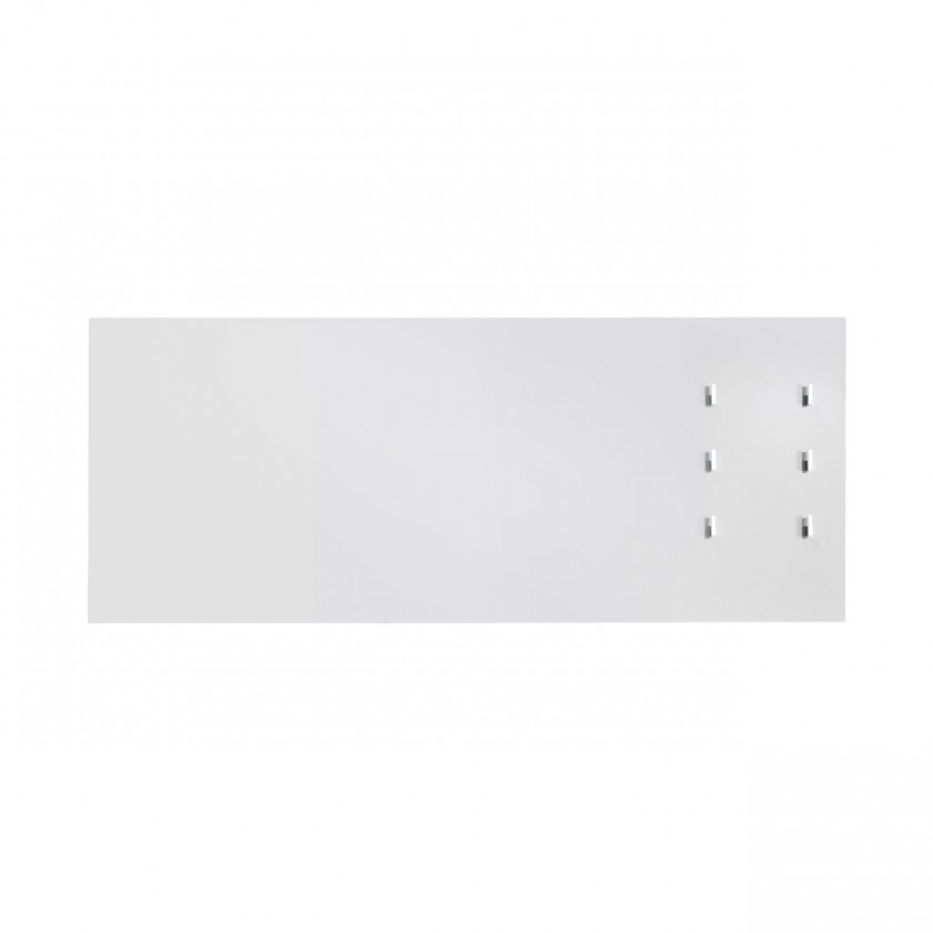 Věšák Rhein - Věšákový panel horizontální, 6x háček (bílá)