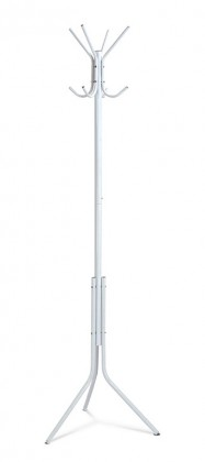 Věšák stojanový věšák - sv 05, 170 cm (bílá, kov)