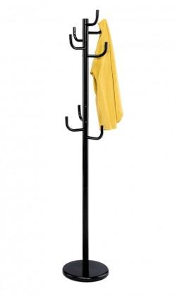 Věšák Stojanový věšák - SV 06, 175 cm (černá, kov)