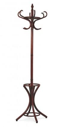 Věšák Stojanový věšák - SV 14, 186 cm (hnědá, dřevo)