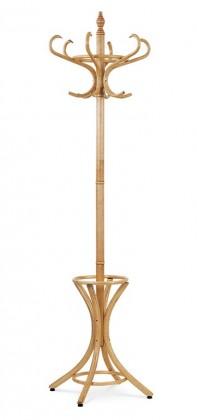 Věšák Stojanový věšák - SV 15, 186 cm (hnědá, dřevo)