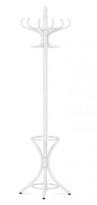 Věšák Stojanový věšák - SV 16, 186 cm (bílá, dřevo)