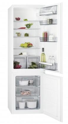 Vestavné ledničky Vestavná kombinovaná lednice AEG SCB51811LS,A+