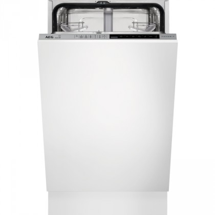 Vestavné myčky Vestavná myčka nádobí AEG FSE83400P, A+++,45cm,9sad