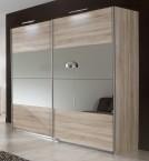 Vicenza - Šatní skříň, 2x posuvné dveře (dub)