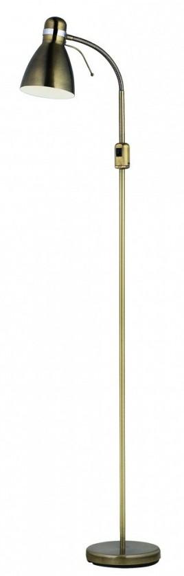 Viktor - Lampa podlahová (kov/kov/patina)