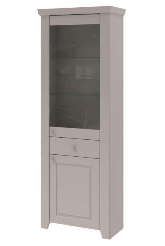 Vitrína Domi - Vitrína 2x dveře (kašmír)