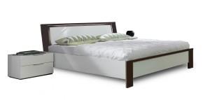 Viva - komplet, postel 180cm (alpská bílá, lava černá)