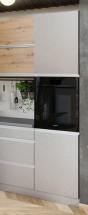 Vysoká skříňka na vestavnou troubu ke kuchyni Metalica
