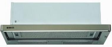 Výsuvné, výklopné odsavače par Odsavač par Beko CTB 6407 X