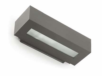 West 2 - Nástěnné svítidlo (tmavá šedá)