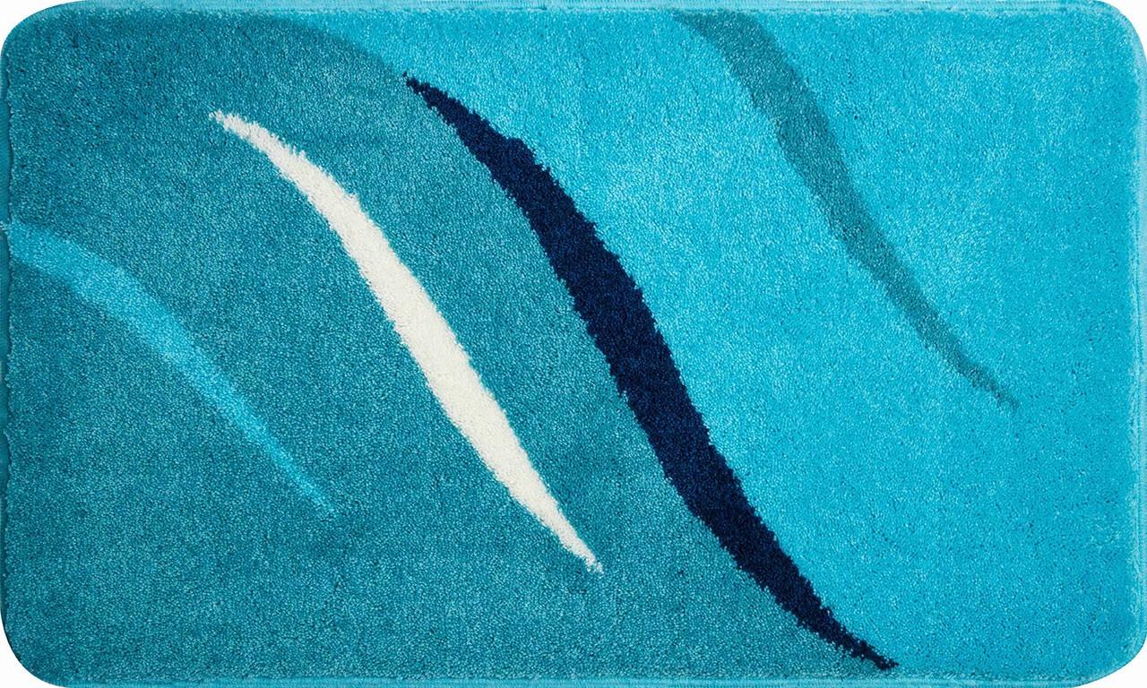 Wings - Koupelnová předložka 60x100 cm (tyrkysová)