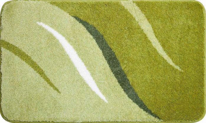 Wings - Koupelnová předložka 60x100 cm (zelená)
