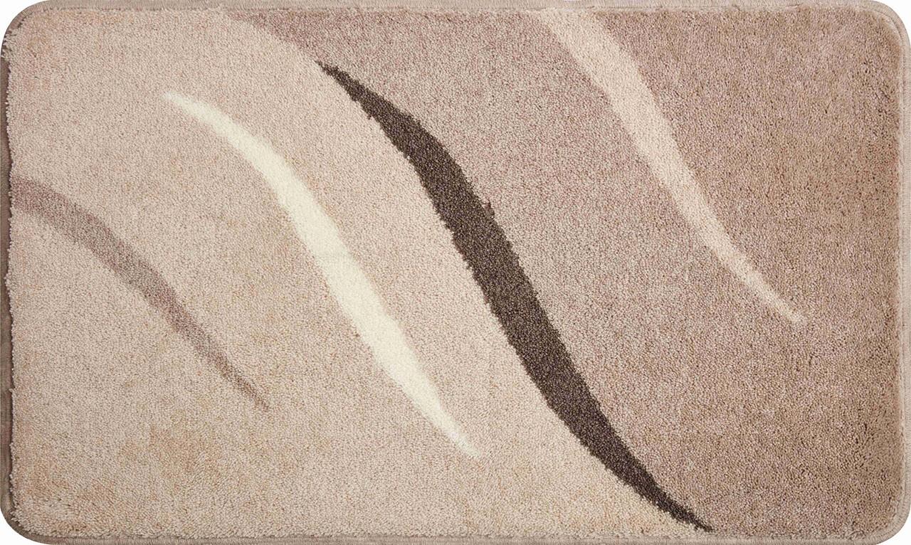 Wings - Koupelnová předložka 80x140 cm (hnědošedá)