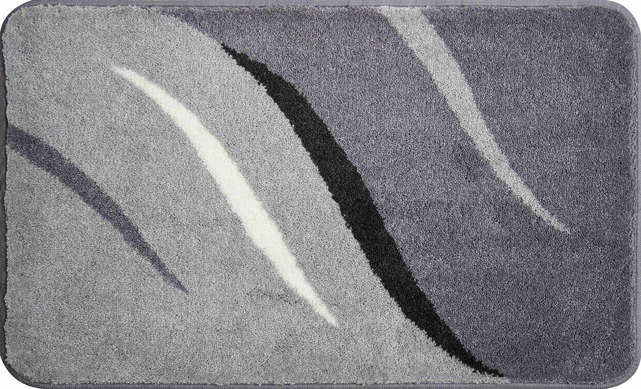 Wings - Koupelnová předložka 80x140 cm (šedá)