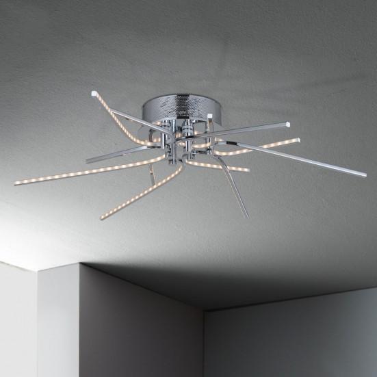 Xenia - Stropní osvětlení, LED (chrom)