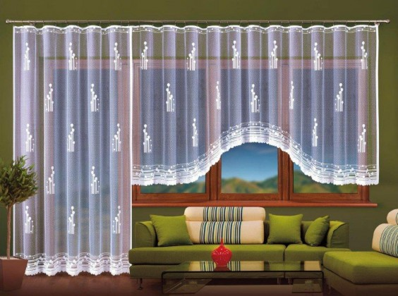 Záclona Amadea (400x160)