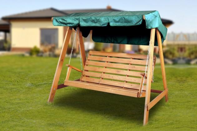 Zahradní houpačka Swing 150 - Houpací lavice (teak)