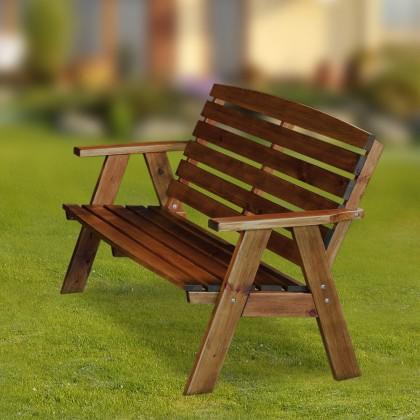 Zahradní lavička Cordoba - Lavice (ořech)